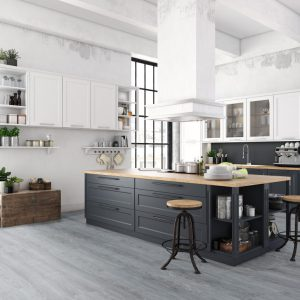 Interieurfoto Gelasta PVC Dryback Arizona 8001 Grey Oak