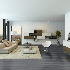 Interieurfoto Gelasta PVC Dryback Arizona 8014 Authentic Oak Grey