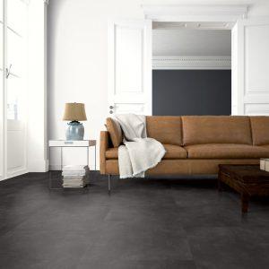 Interieurfoto Gelasta PVC Dryback Pure Tile 8507 Basalt Graphite