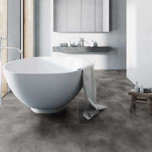 Interieurfoto Rigid Core Tile 8800 Beton GreyInterieurfoto Rigid Core Tile 8800 Beton Grey