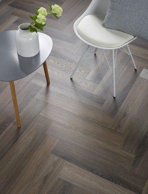 Interieurfoto Spigato Visgraat d.grey 3506