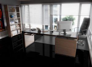 Hoogglans tegellaminaat Ibiza 60 x 30 cm