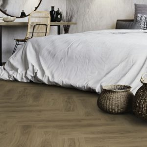 Ultimo Wood Visgraat Dry-Back Wit Ultimo Summer Oak 24432