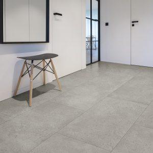 Interieurfoto PVC Rigid Click COREtec Authentics Stone 153 Cumulus