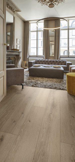 Interieurfoto PVC Rigid Click COREtec Authentics Wood 140 Nimbus