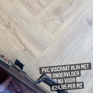 PVC Click Visgraat Magnum