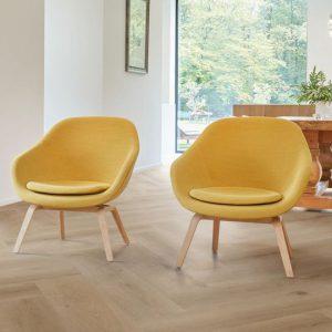 PVC Rigid Click COREtec Essentials Herringbone H54 Texas Oak