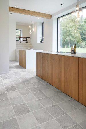 PVC Rigid Click COREtec Essentials Tile++ Series Rabat 90