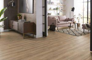 PVC Rigid Click Natural Oak 14011