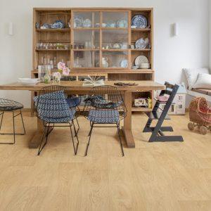PVC Rigid Click Floorify Paris Tan F001